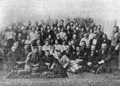 At the congress in Poltava in 1903