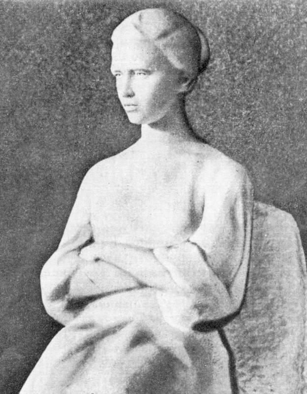 1961 р. Скульптура Лесі Українки