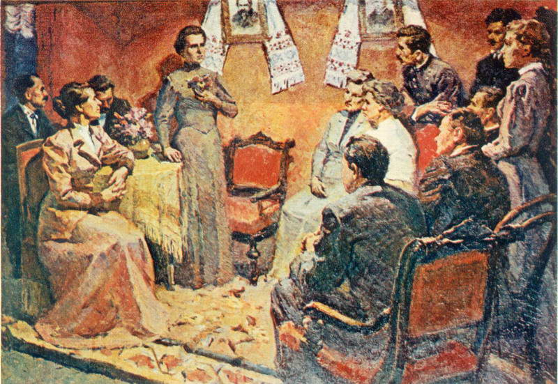 1962 р. Виступ Лесі Українки в клубі…