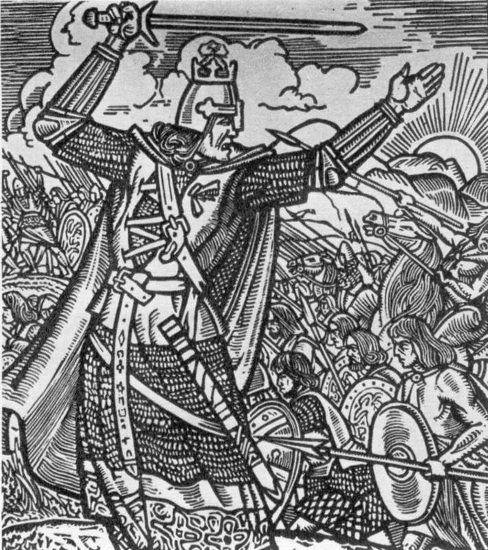 Robert Bruce (4) - illustration to the…