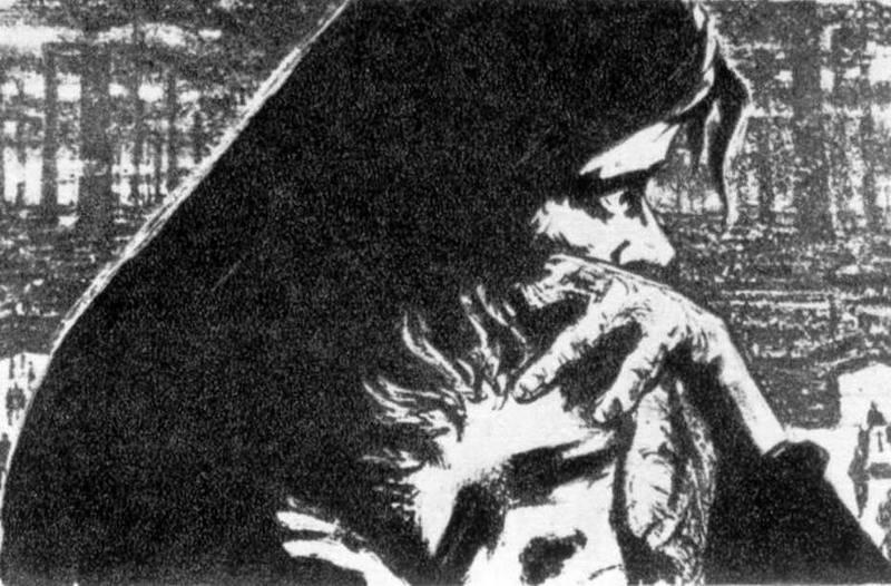 Дим (2) - ілюстрація до твору Лесі…