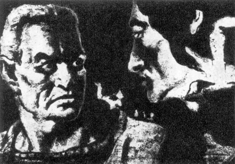 В катакомбах (1) - ілюстрація до твору…