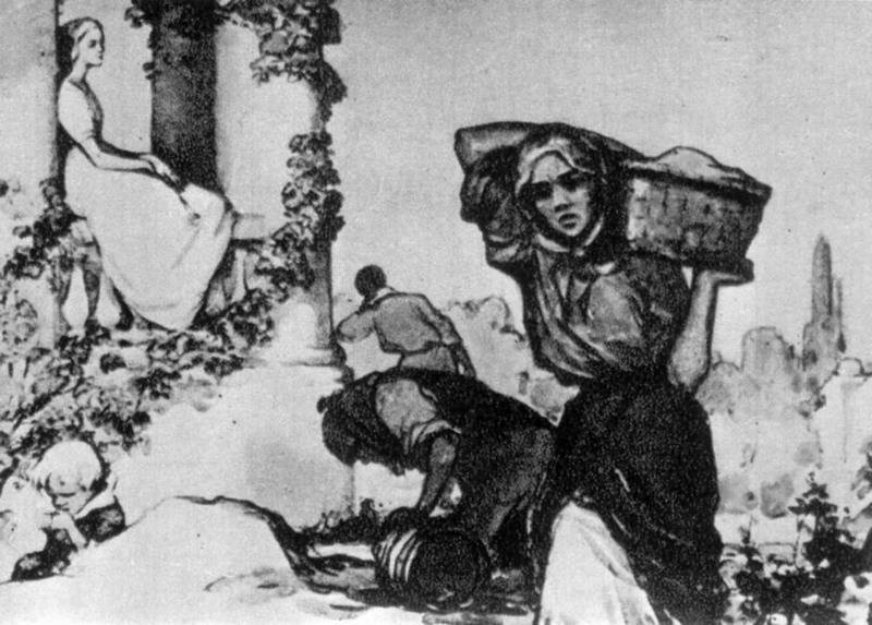 Sympathy - illustration to the Lesja…