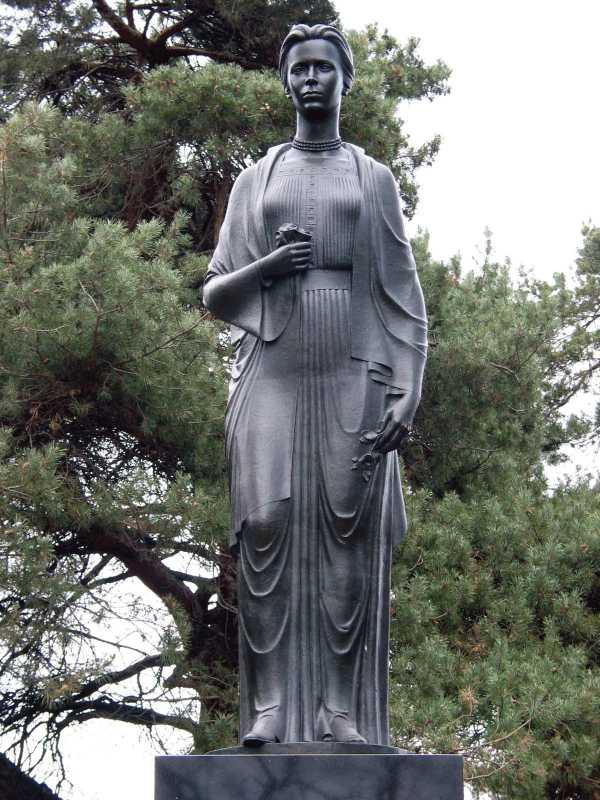 Пам'ятник Лесі Українці - 1975 р.…