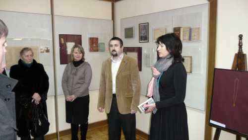 Відкриття виставки «Леся Українка в…