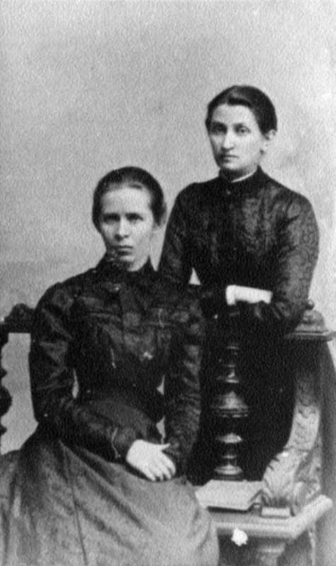 Леся Українка і Ольга Кобилянська.…