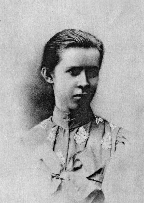 Леся Українка, фото 1895 р.