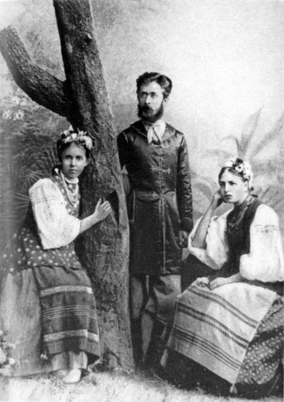 Леся Українка з братом Михайлом і…