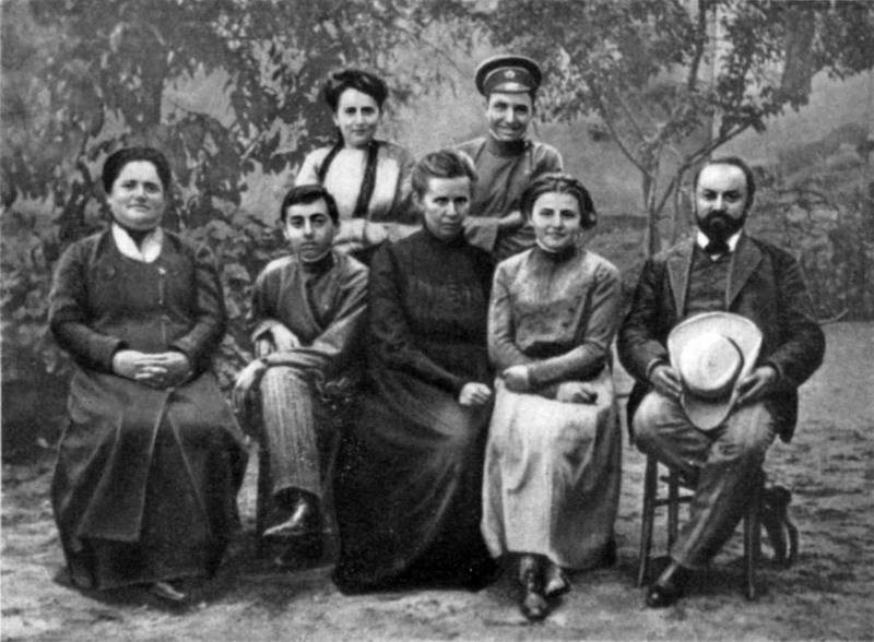 Фото Лесі Українки на віллі…