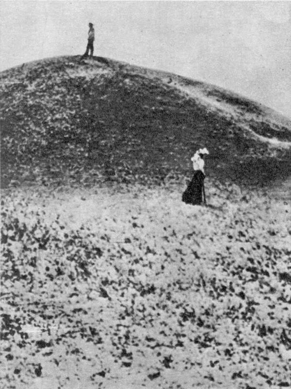 Фото Леси Украинки в Броварках, 1898 г.