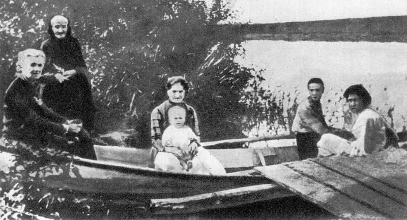 Фото Лесі Українки на річці Псел, 1904…