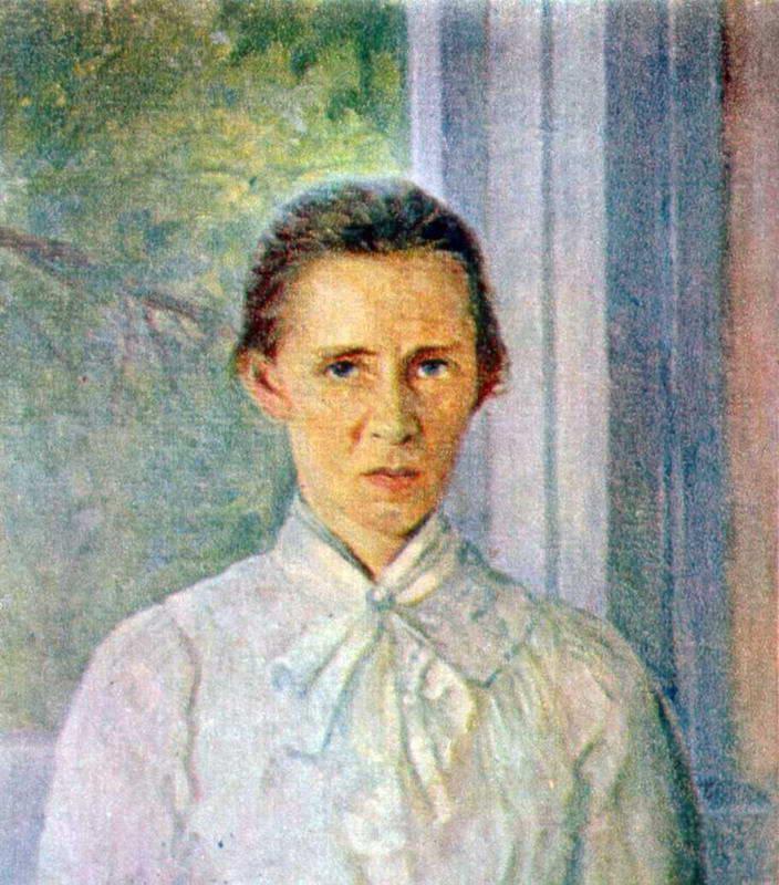 Ф.Красицький. Портрет Лесі Українки.…