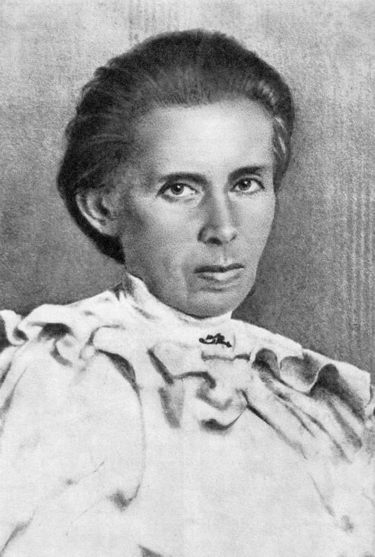 Фото Лесі Українки, 1913 р.