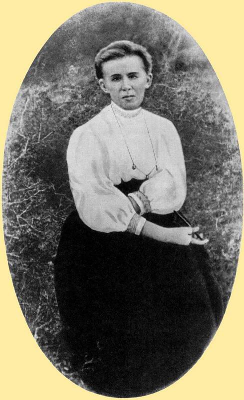 Lesja Ukrainka's photo in 1912