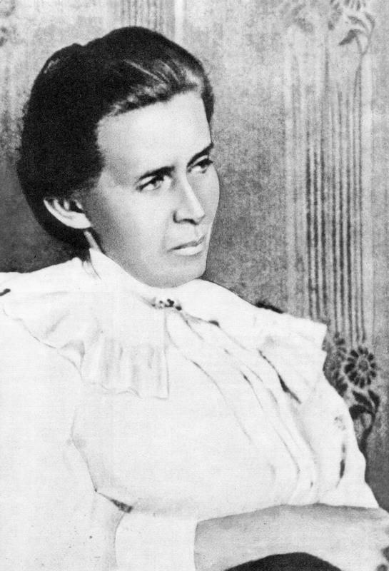 Lesja Ukrainka's photo 1913 - Variant 2
