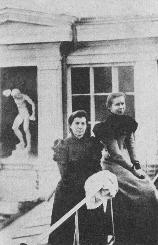 Фото Лесі Українки з матір'ю, 1898 р.