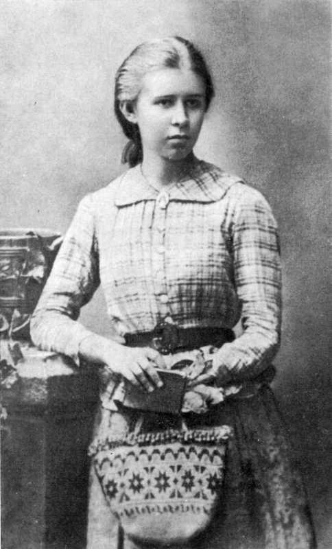Леся Українка. Фото 1888 р. (2)