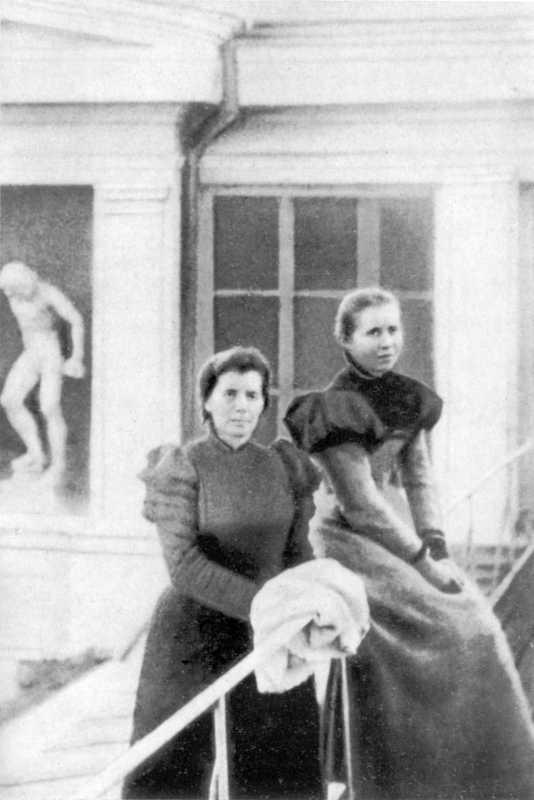 Olena Pchilka and Lesja Ukrainka.…