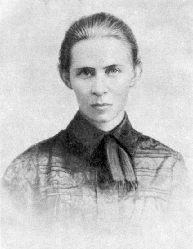 Леся Українка. Фото 1901 р. (обрізане…