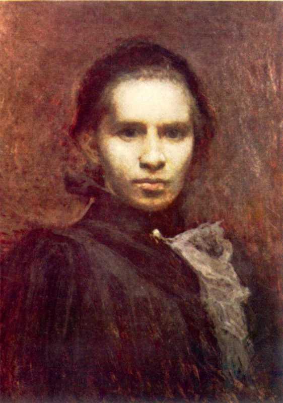 И. Труш. Портрет Леси Украинки. 1900 г.