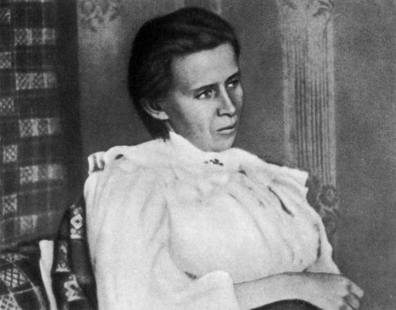 Фото Лесі Українки, 1913 р. (2а)