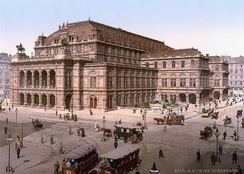 Оперний театр у Відні (кін. 19 ст.)