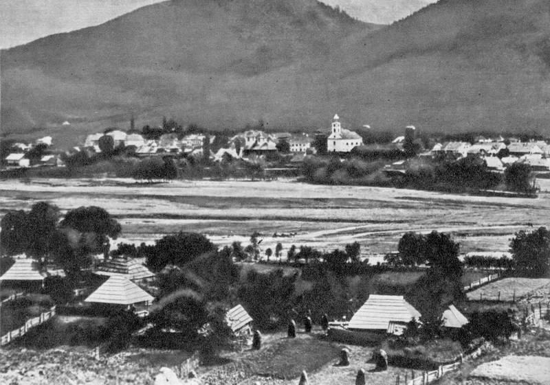 Панорама Кимполунга наприкінці 19 ст.