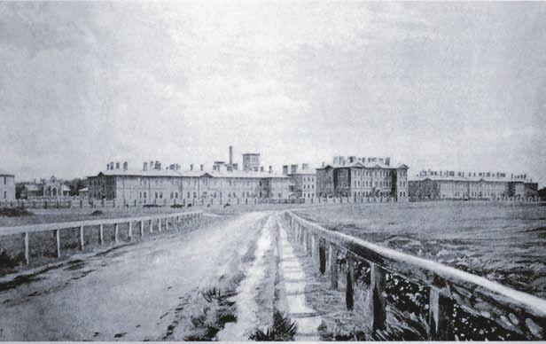 Панорама психиатрической больницы в…