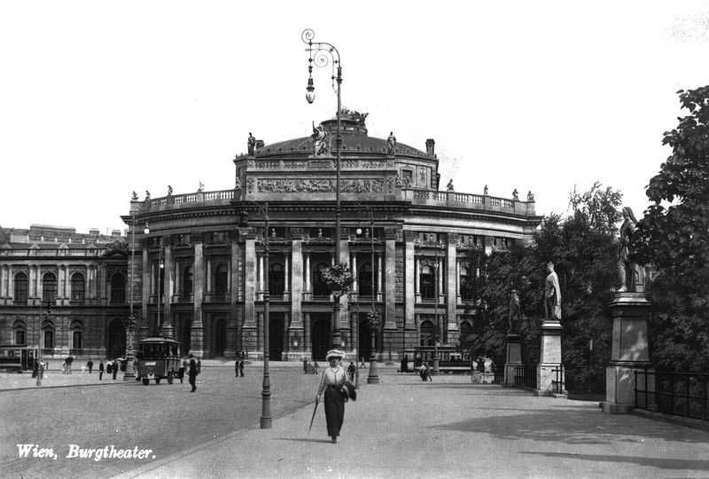 The new Burg Theater in Vienna