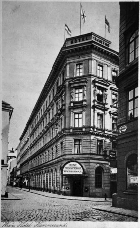 The Hammerand hotel in Vienna